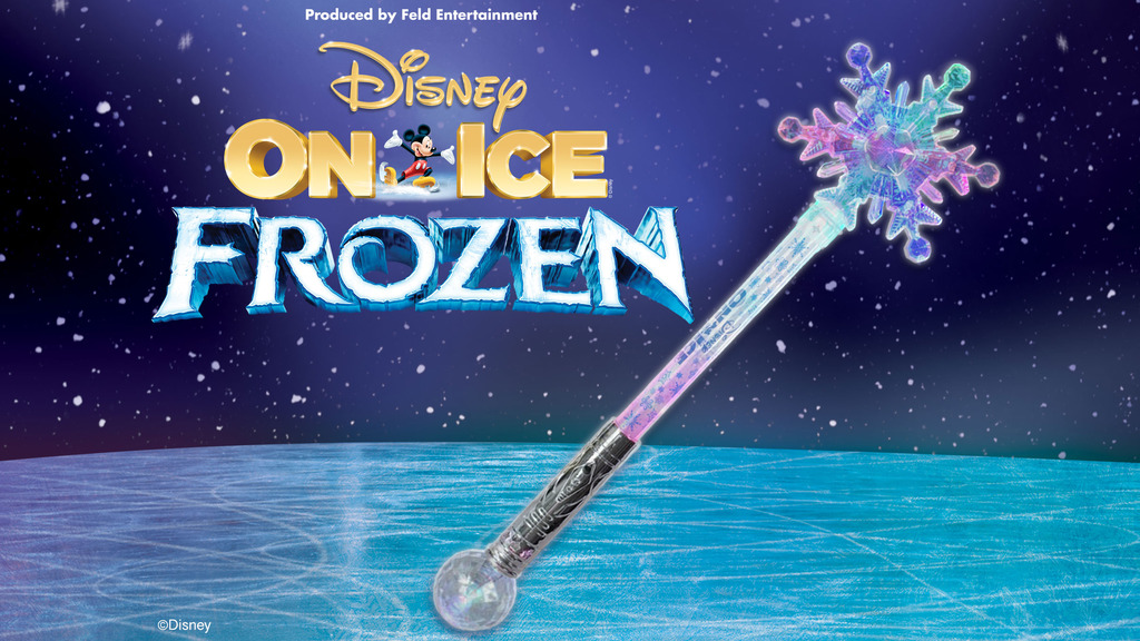Disney On Ice Frozen Snowflake Light Up Wand Tickets