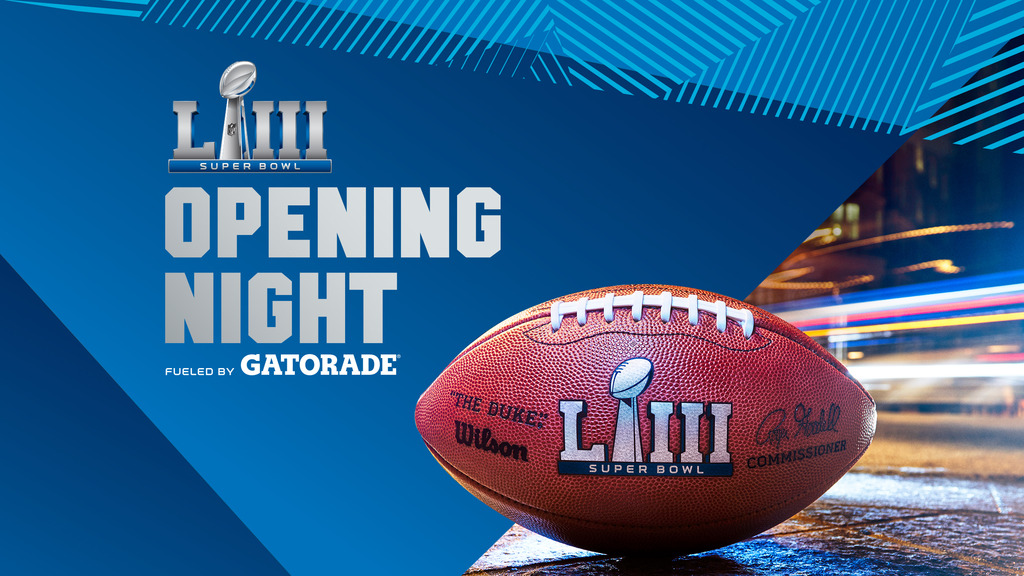 Super Bowl Opening Night Fueled by Gatorade Tickets
