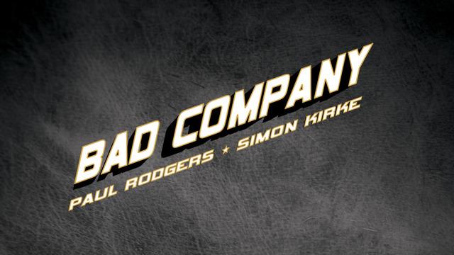 Bad Company Tickets