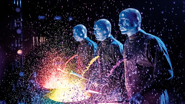 Blue Man Group On Tour Tickets