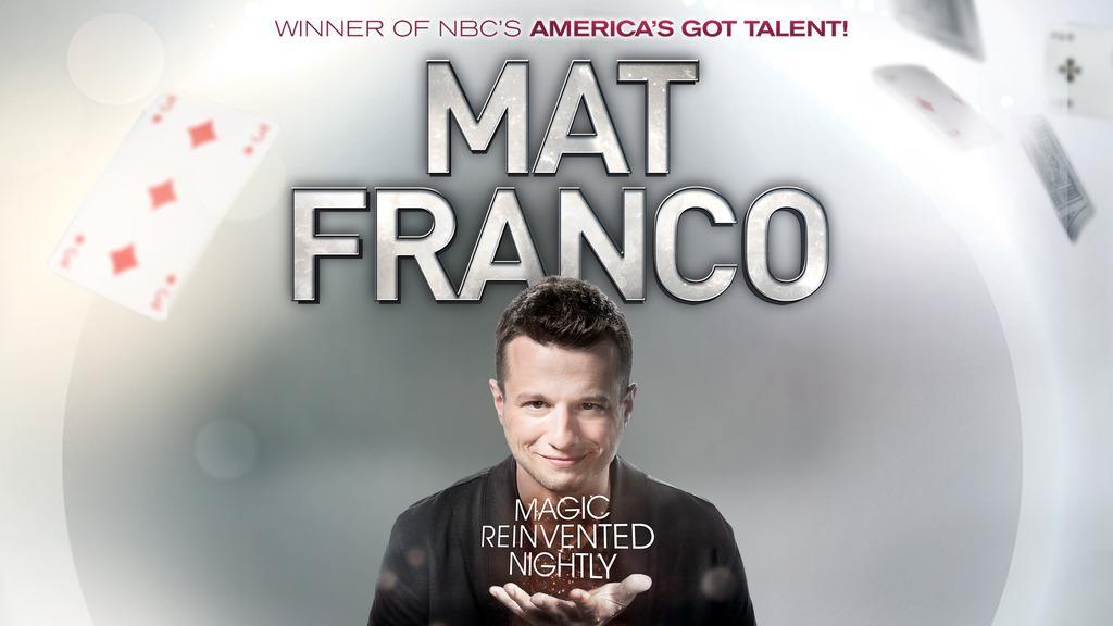 Mat Franco Tickets