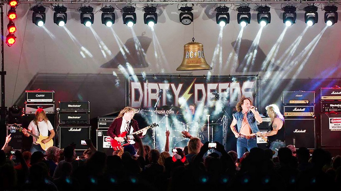 Dirty Deeds DDC. The AC/DC Experience